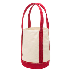 FLOAT TOTE - Natural × Red