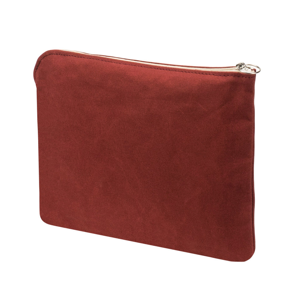 INSTANT CLUTCH BAG - Terracotta