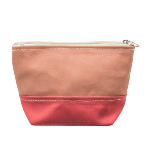 MINIMAL POUCH - Coral × Pink