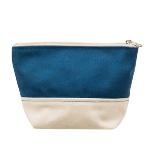 MINIMAL POUCH - Marine Blue × Natural