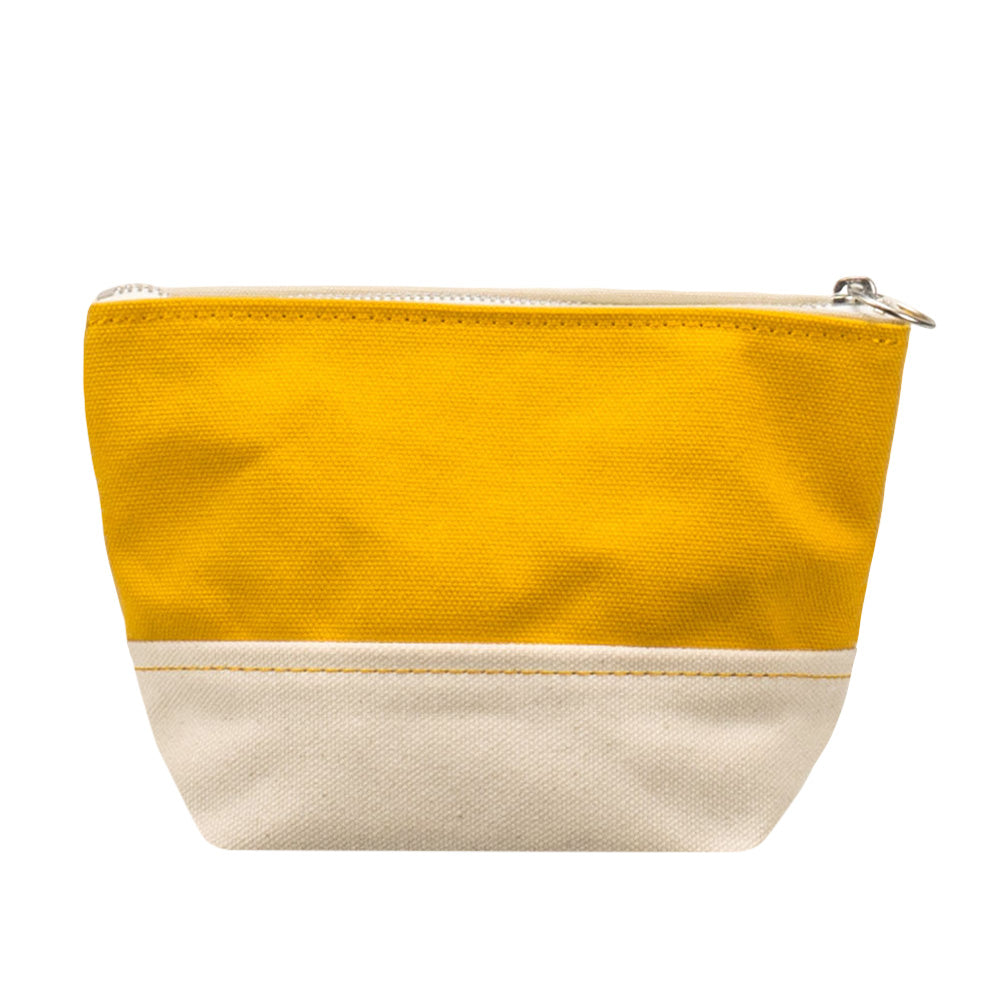 MINIMAL POUCH - Mustard × Natural