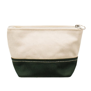 MINIMAL POUCH - Natural × Green