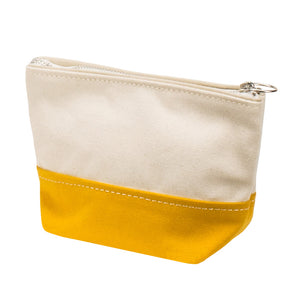 MINIMAL POUCH - Natural × Mustard
