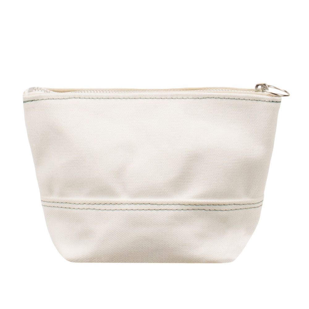 MINIMAL POUCH - Off White × Mint Stitch