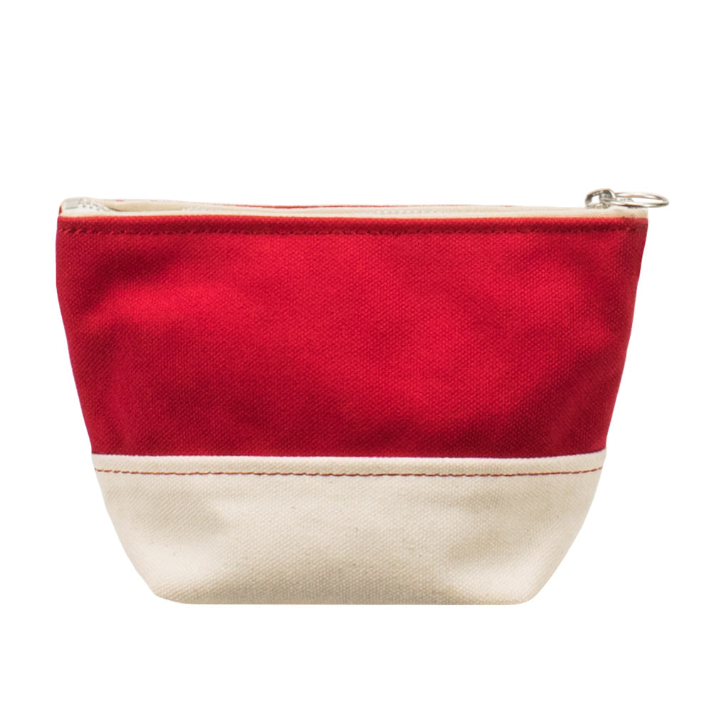MINIMAL POUCH - Red × Natural