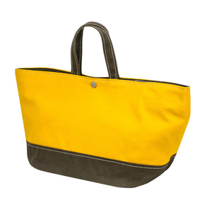 MINIMAL TOTE - Deep Yellow × Khaki