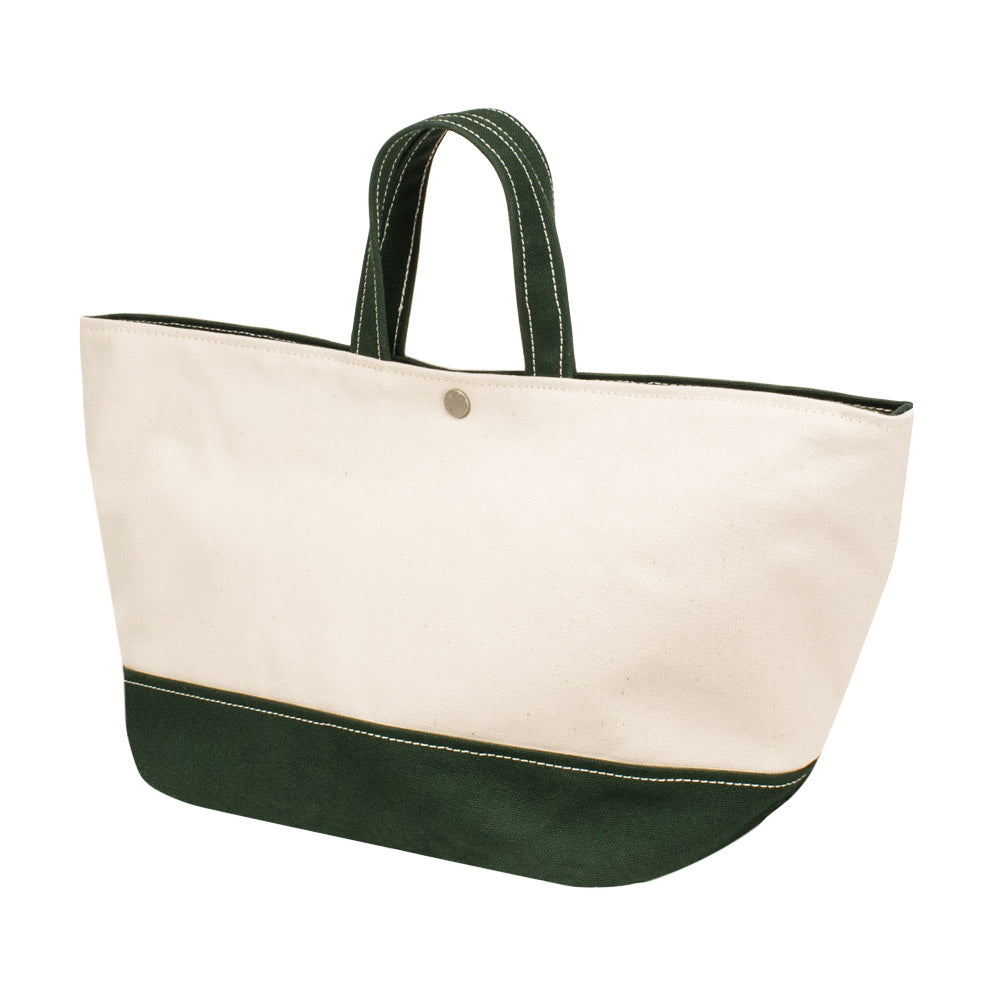 MINIMAL TOTE - Natural × Green