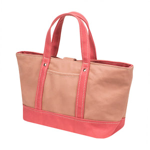 PARK TOTE - Coral × Pink