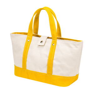 PARK TOTE - Natural × Deep Yellow