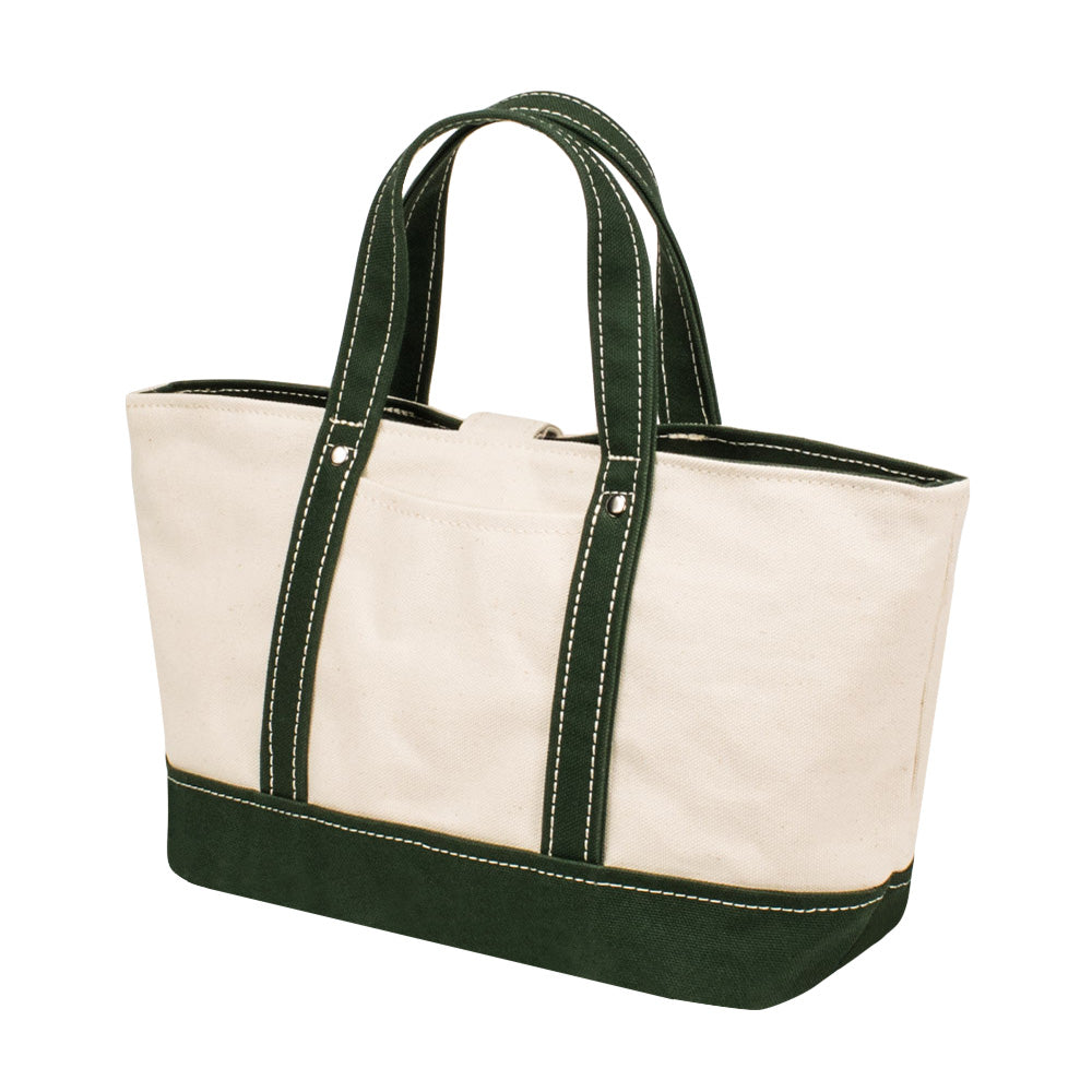 PARK TOTE - Natural × Green