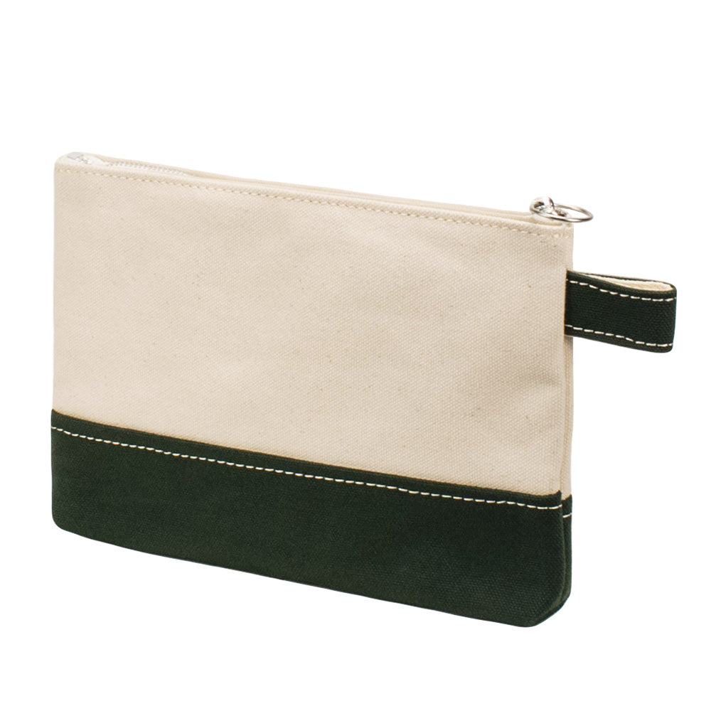 PLAY POUCH - Natural × Green