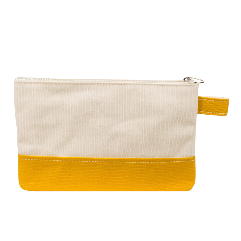 PLAY POUCH - Natural × Mustard