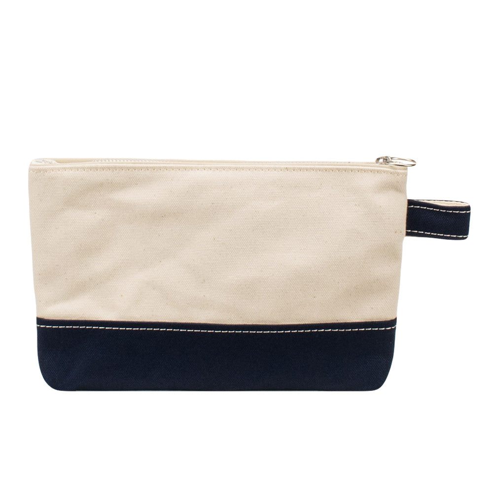 PLAY POUCH - Natural × Navy