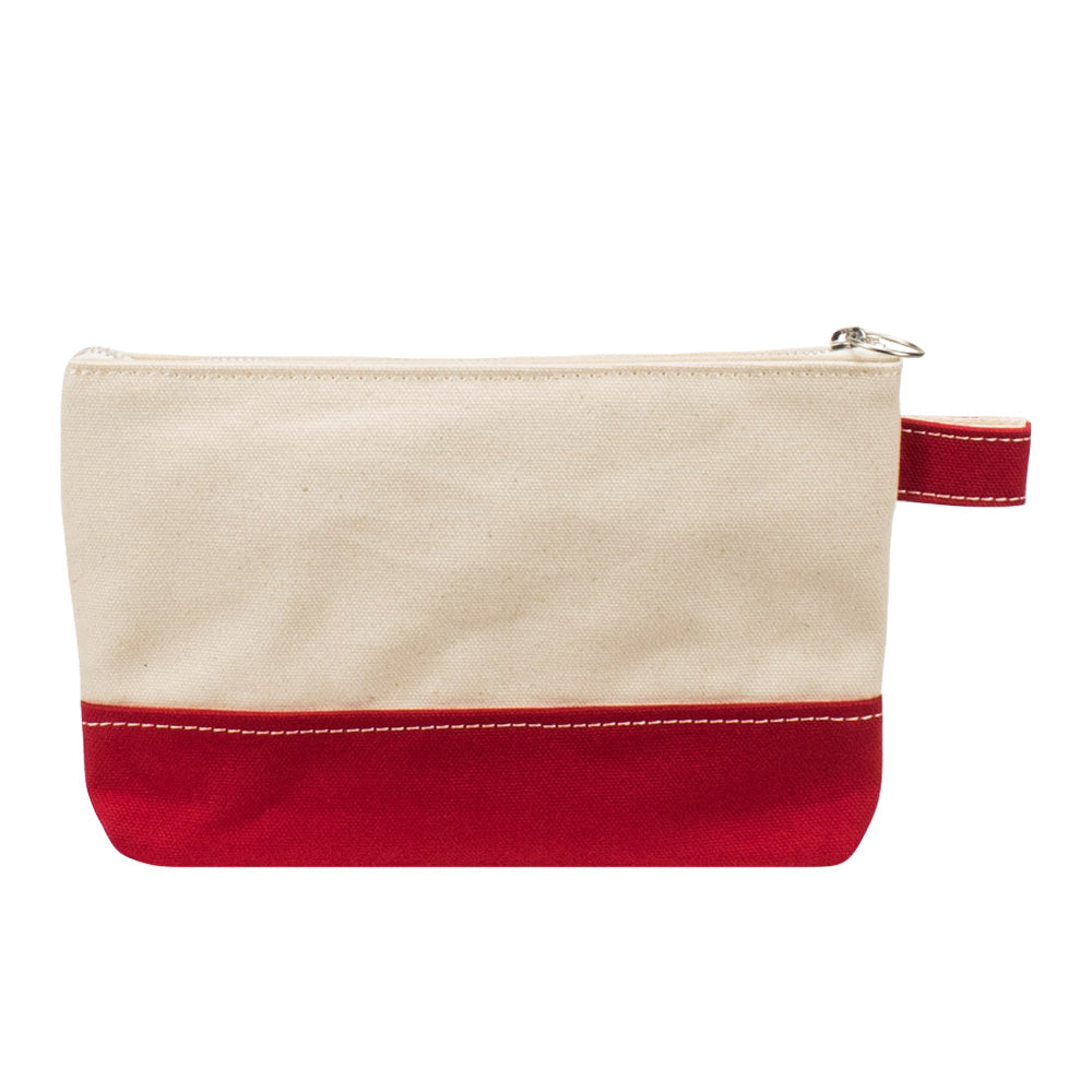 PLAY POUCH - Natural × Red