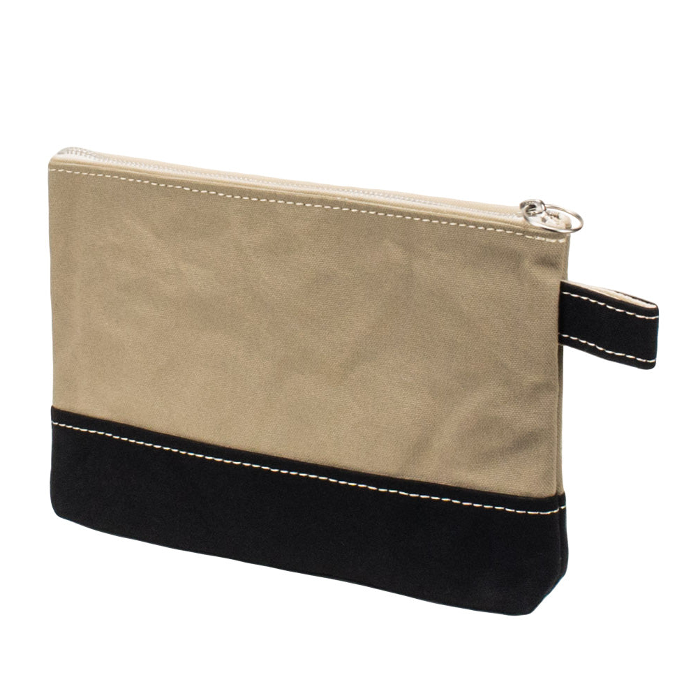PLAY POUCH - Sand Beige × Black