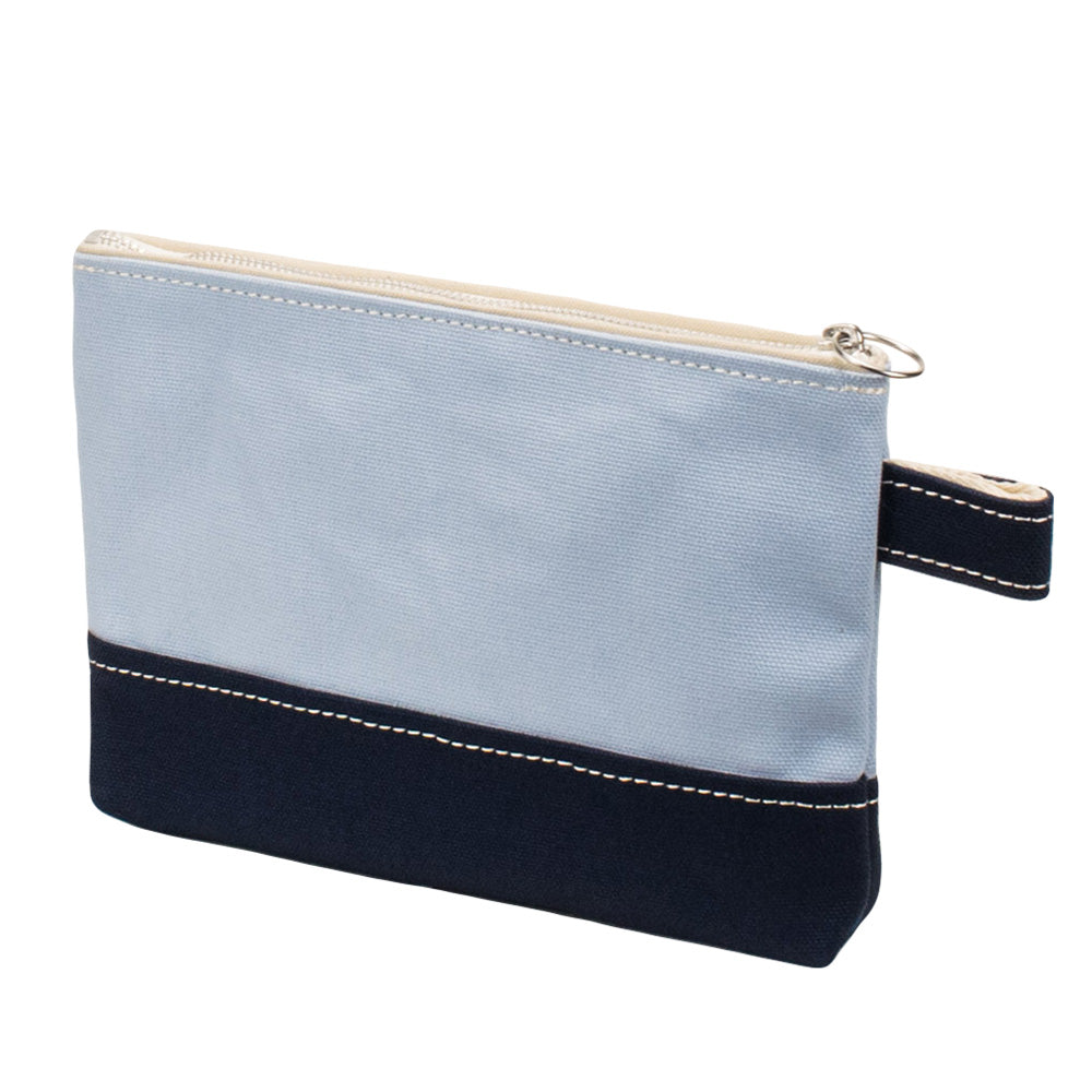 PLAY POUCH - Saxe × Navy
