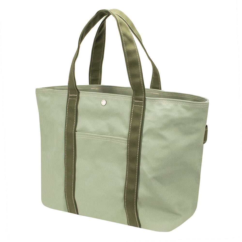 PLAY TOTE - Mint × Moss Green