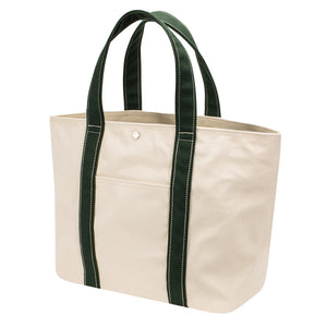 PLAY TOTE - Natural × Green