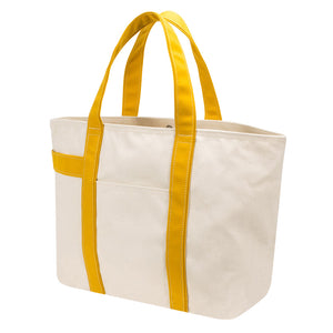 PLAY TOTE - Natural × Mustard