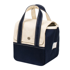 ROOM BAG - Natural × Navy