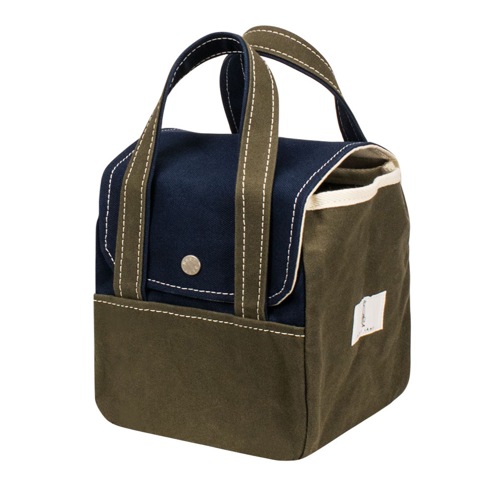 ROOM BAG - Navy × Khaki