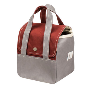 ROOM BAG - Terracotta × Gray