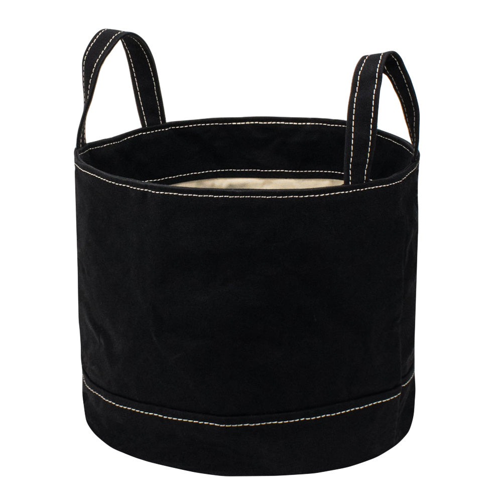 ROUND STORAGE BAG - Black