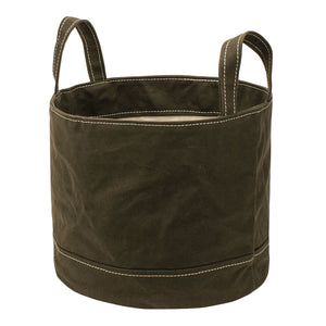 ROUND STORAGE BAG - Khaki