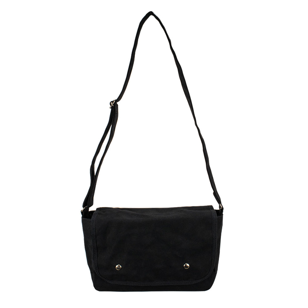 SCHOOL SHOULDER - Black