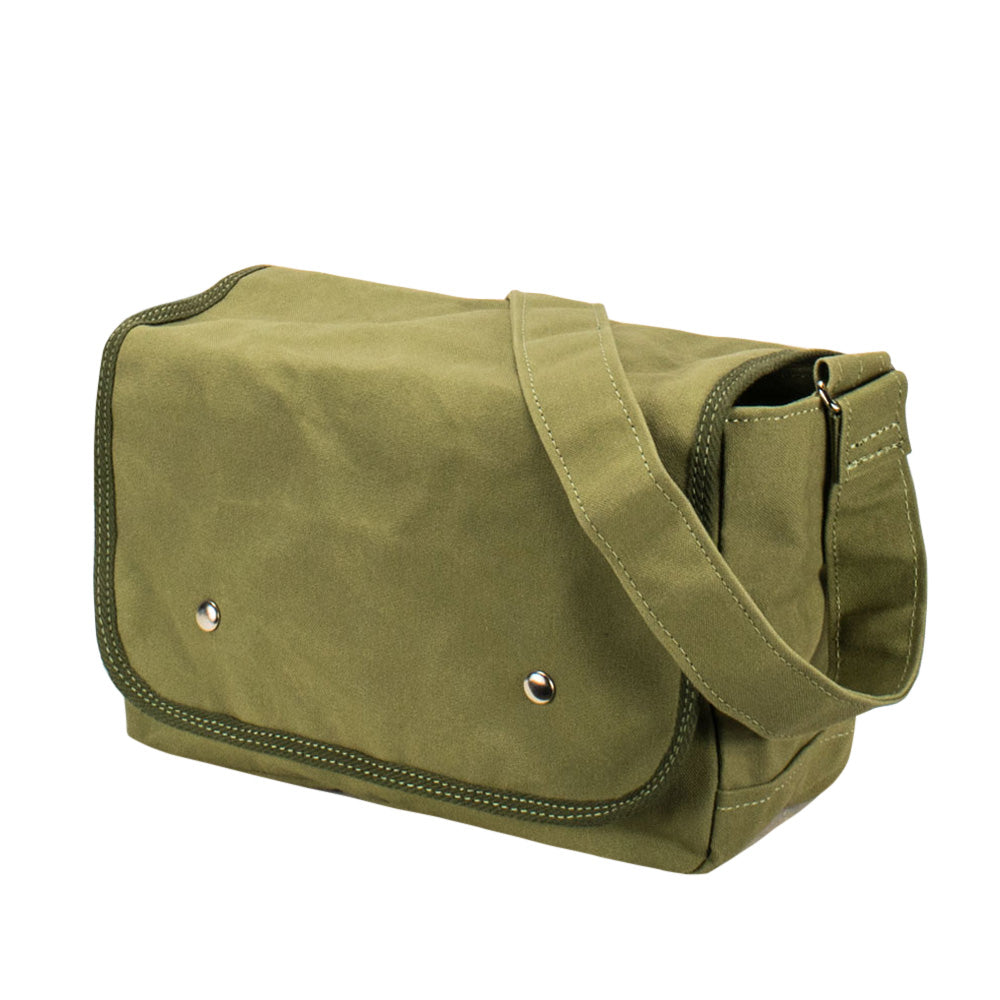SCHOOL SHOULDER - Olive