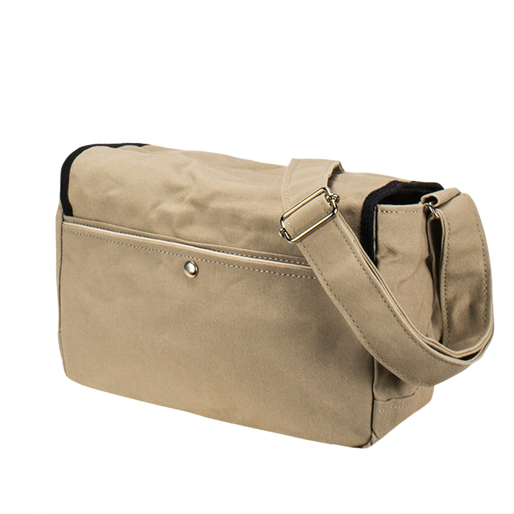 SCHOOL SHOULDER - Sand Beige