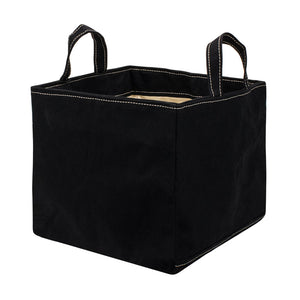 SQUARE STORAGE BAG - Black