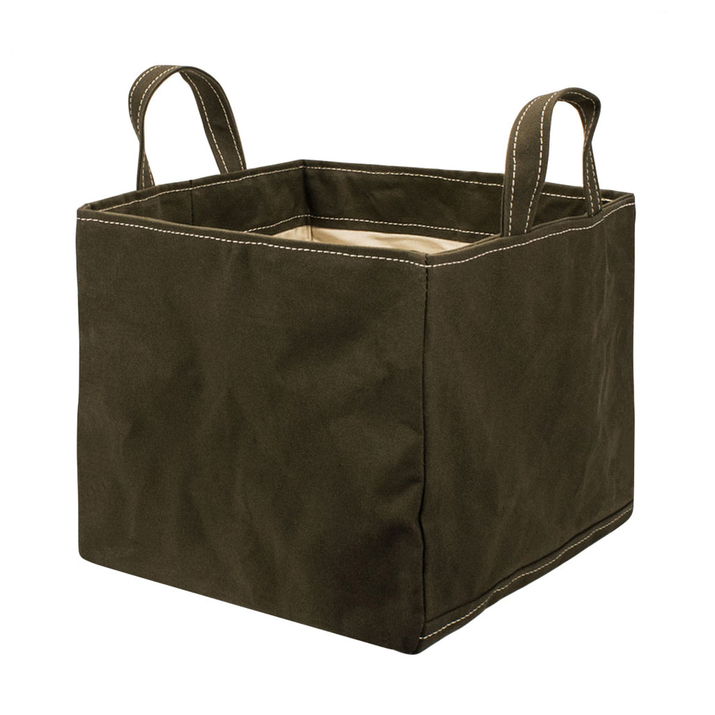 SQUARE STORAGE BAG - Khaki