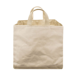SQUARE STORAGE BAG - Natural × Beige