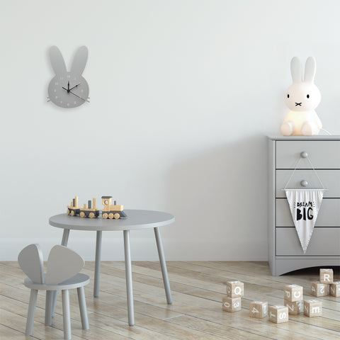 Bunny Kids Wall Clock