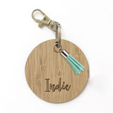 Personalised Bag Tag with Charm