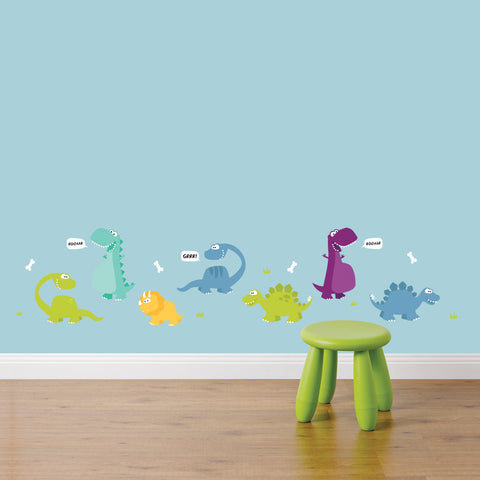 Dinosaurs Wall Sticker Set