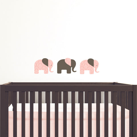 Elephants Wall Sticker Set