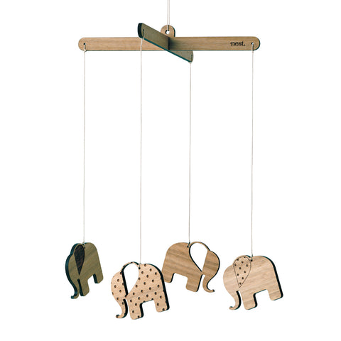 Elephants Nursery Mobile