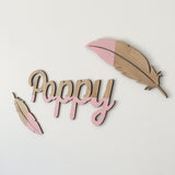 Wooden Feathers (set of 2)