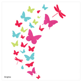 Flutter Wall Sticker Set