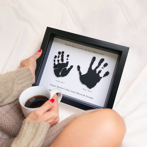 Hands Down Best Mum/Nan 3D Handprint Frame