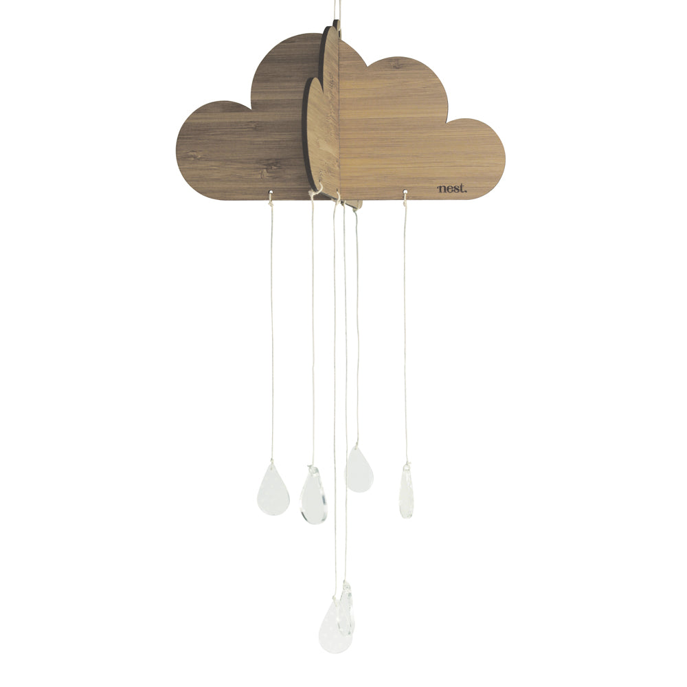 Happy Cloud Nursery Mobile - Bamboo