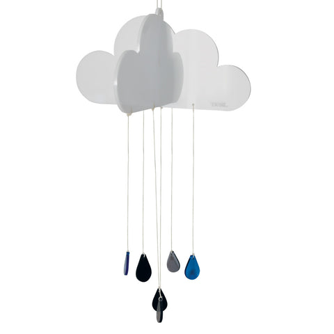 Happy Cloud Nursery Mobile - Acrylic