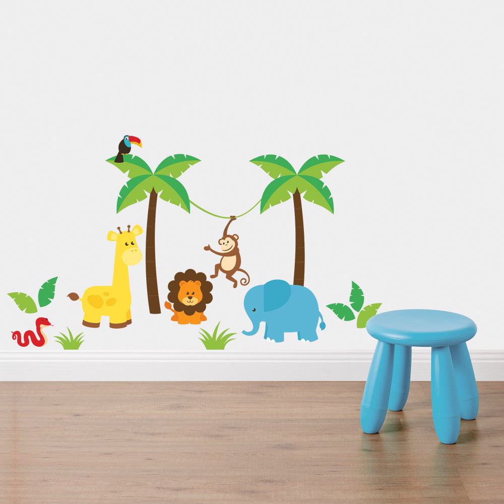 In the Jungle Wall Sticker Set