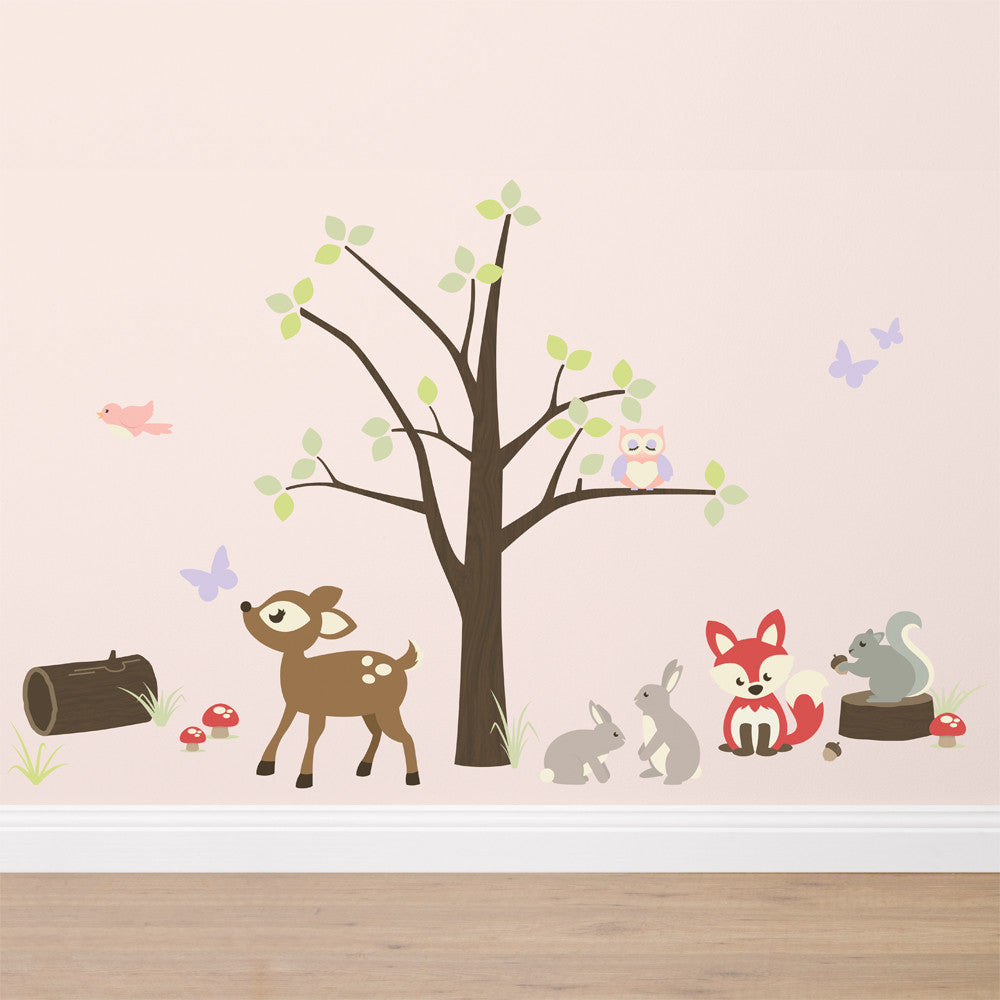 In the Woods Wall Sticker Set