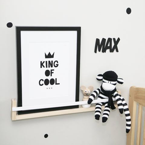 King of Cool | Queen of Cool Art Print