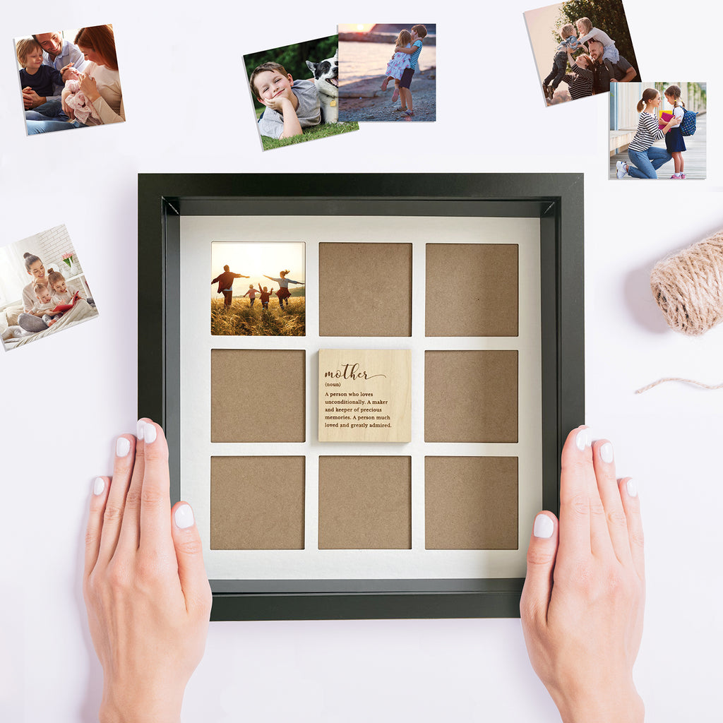 Personalised Mother's Day Frame with 8 openings