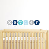 Polkadots Name Wall Sticker