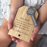 Personalised Magic Santa Key